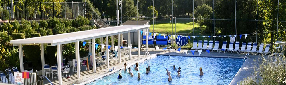 Swim laps in half Olympic size pool, bask in the sun, dip in the kiddie pool, ALL here!